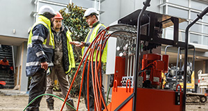 HEAVY LIFTING & LEVELLING Commercial & Industrial Infrastructure